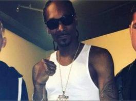 Nate Diaz dự tiệc và đốt một điếu blunt khổng lồ với Snoop - Tạp chí cần sa Việt Nam